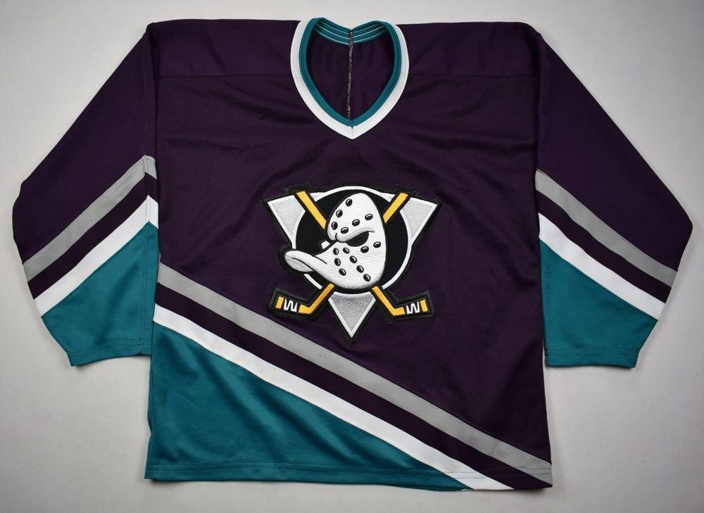 ANAHEIM MIGHTY DUCKS NHL CCM SHIRT XL Other Shirts   Hockey ... 49294572411