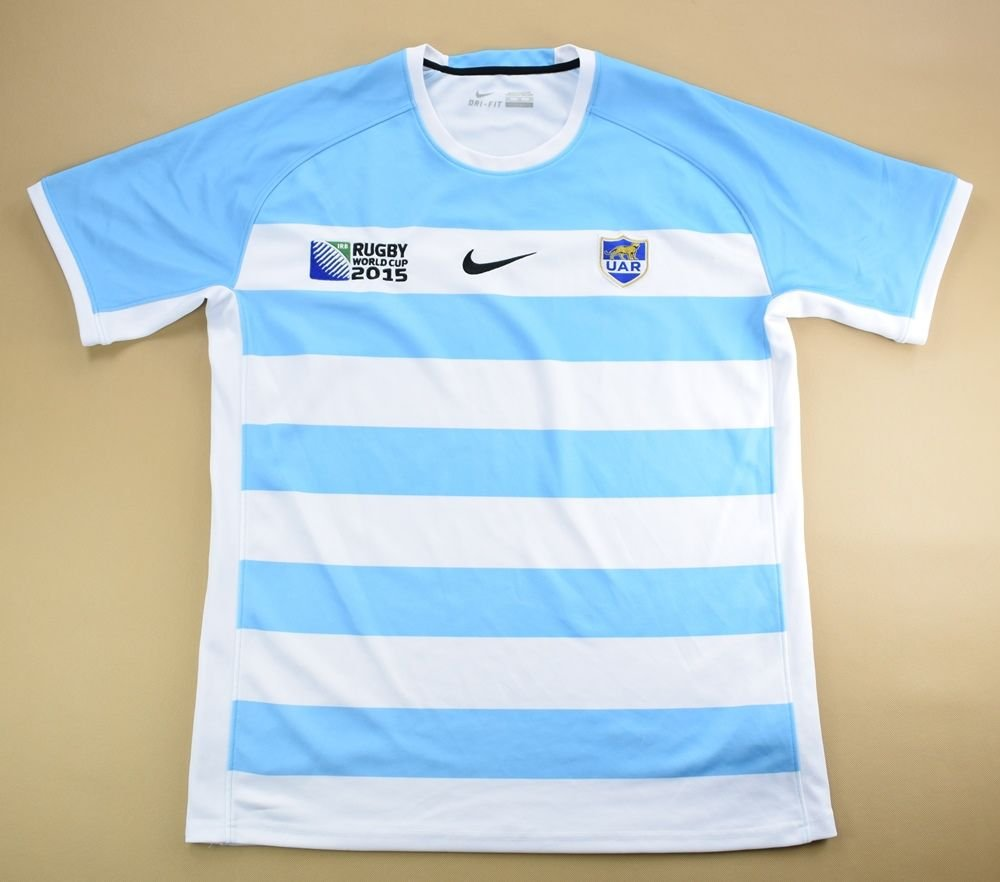 Convertir malicioso cualquier cosa  ARGENTINA RUGBY NIKE SHIRT 2XL Rugby \ Rugby Union \ Other |  Classic-Shirts.com