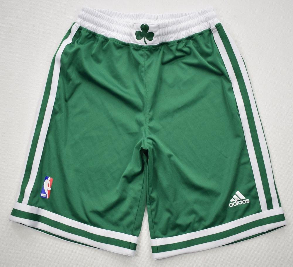 image relating to Boston Celtics Printable Schedule named BOSTON CELTICS NBA ADIDAS SHORTS M. BOYS