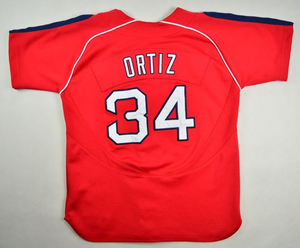 new product d9c08 21893 BOSTON RED SOX *ORTIZ* BASEBALL NIKE SHIRT M. BOYS