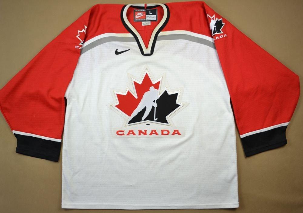 uk availability 511ea 6093e CANADA NATIONAL ICE HOCKEY NIKE SHIRT L