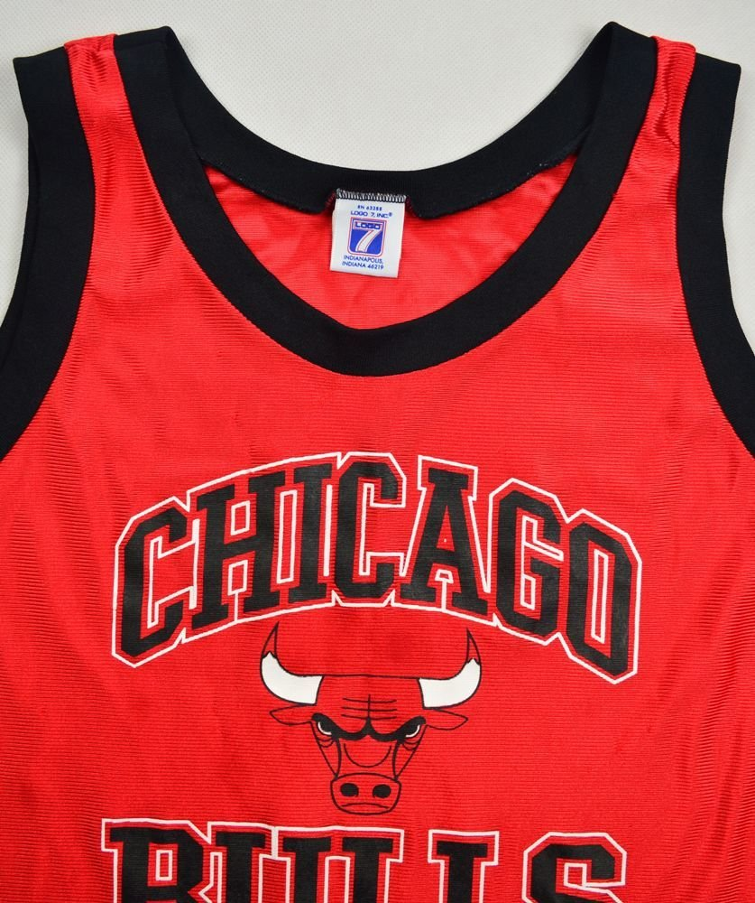 CHICAGO BULLS NBA LOGO SHIRT L. BOYS 14-16 YRS ...