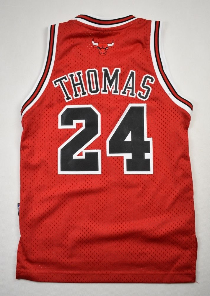 pretty nice 7ed2b 26ed5 CHICAGO BULLS NBA *THOMAS* ADIDAS SHIRT S. BOYS 8YRS