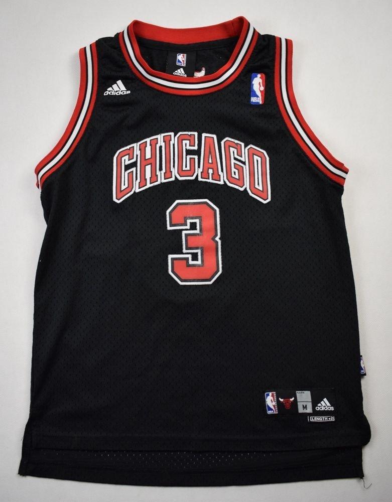 CHICAGO BULLS NBA *WALLACE* ADIDAS SHIRT M. BOYS 10-12 YRS