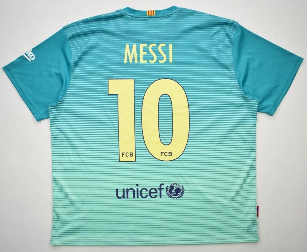 pretty nice ed13a 07e1c 2016-17 FC BARCELONA *MESSI* SHIRT XXL