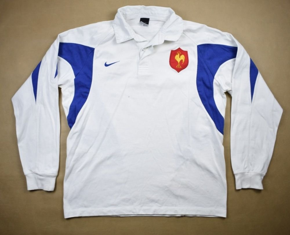 3a04be200 FRANCE RUGBY NIKE LONGSLEEVE SHIRT L Rugby \ Rugby Union \ France ...