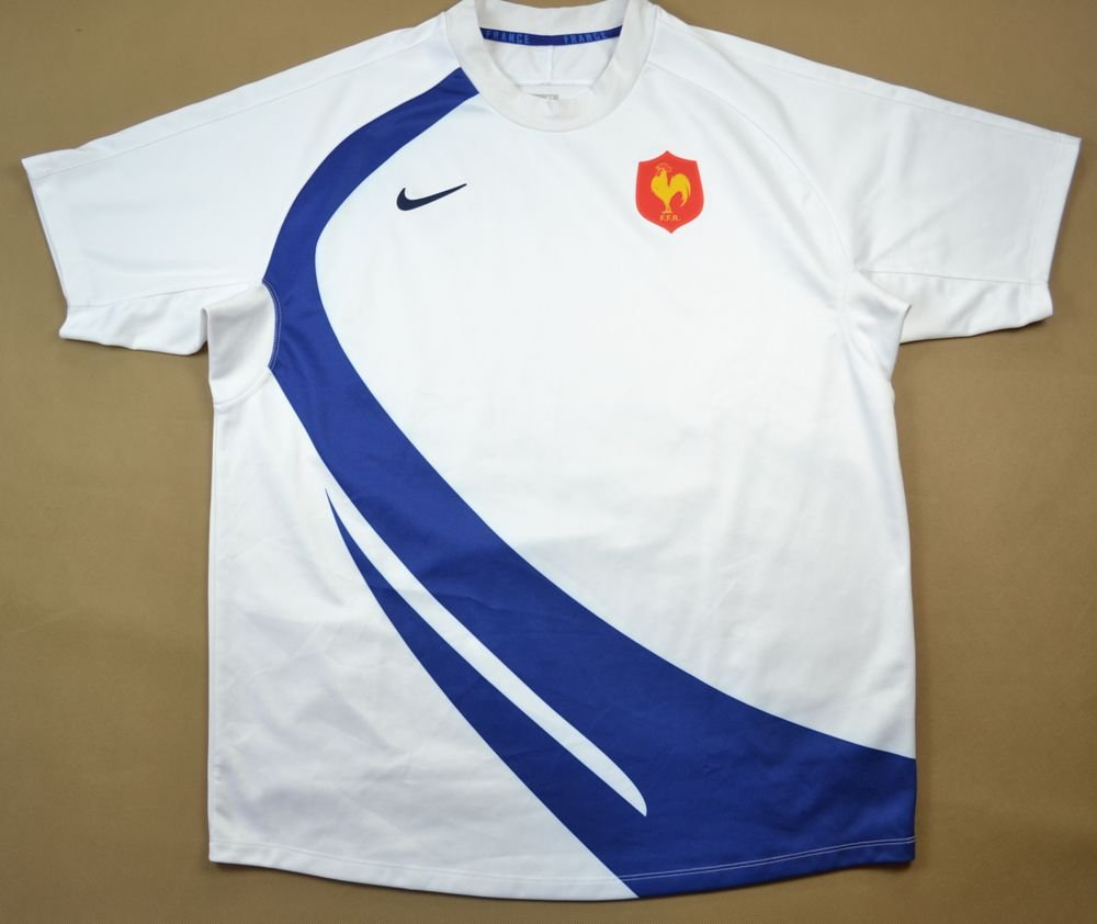 bf99cade3 FRANCE RUGBY NIKE SHIRT XL Rugby \ Rugby Union \ France   Classic-Shirts.com