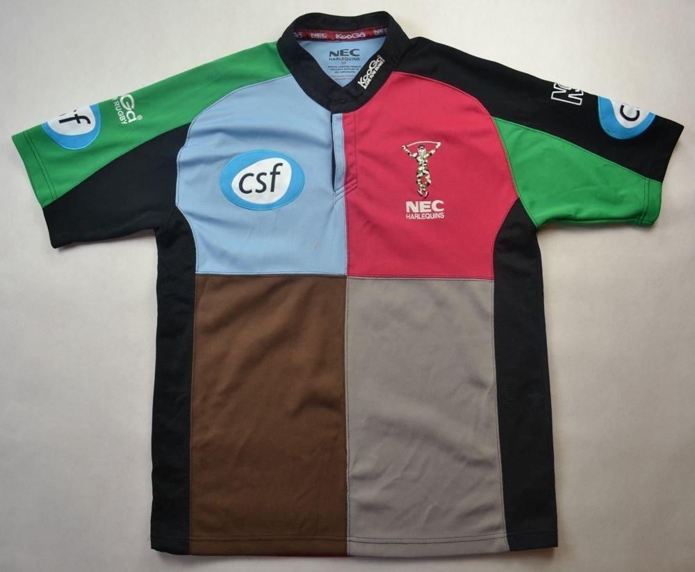 b67932eff89 HARLEQIUNS RUGBY KOOGA SHIRT M Rugby \ Rugby Union \ Harlequins   Classic- Shirts.com