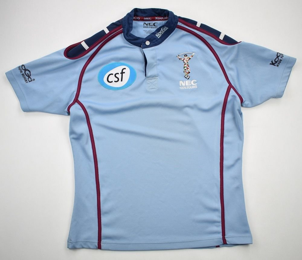6d89a0430fb HARLEQUINS RUGBY KOOGA SHIRT L Rugby \ Rugby Union \ Harlequins   Classic- Shirts.com