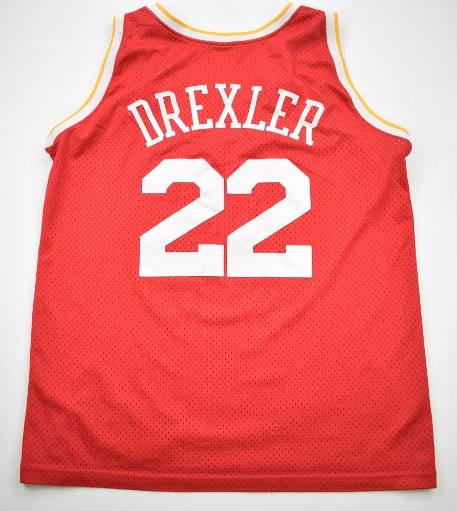 sports shoes 73094 00f30 HOUSTON ROCKETS *DREXLER* NBA CHAMPION SHIRT XL