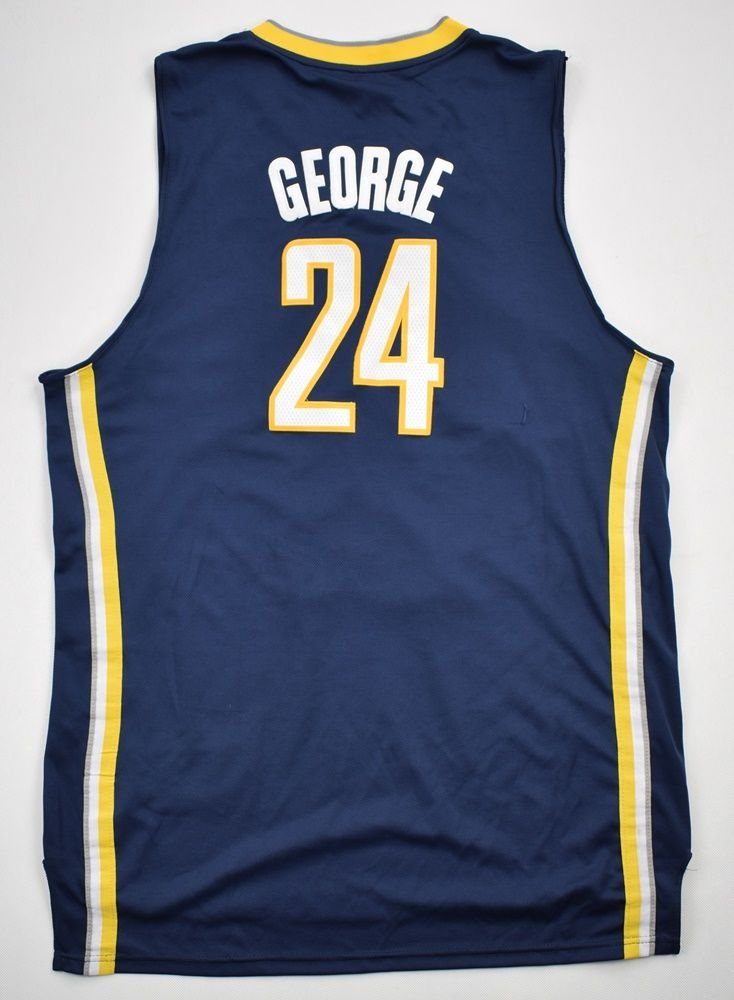 wholesale dealer 0f0b8 4dcfd INDIANA PACERS *GEORGE* NBA ADIDAS SHIRT 3XL