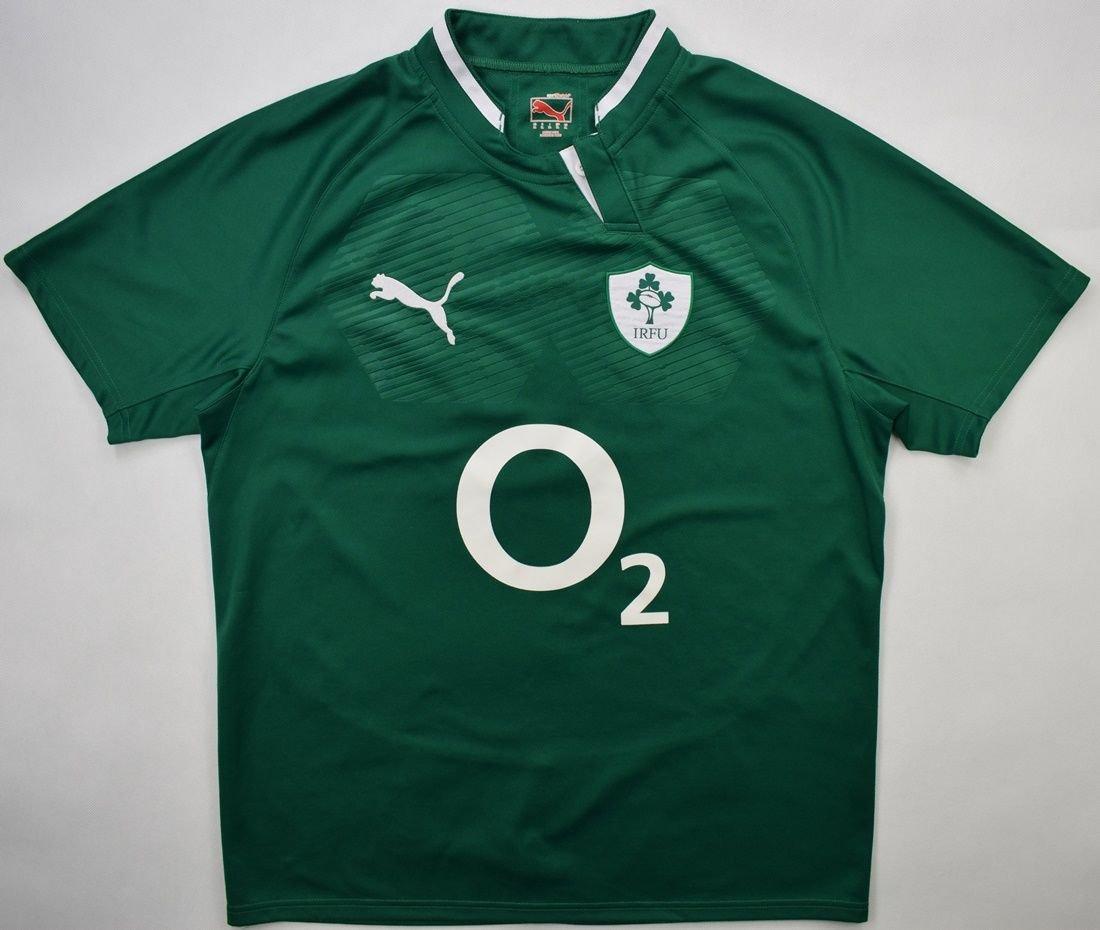 El diseño explosión partido Republicano  IRELAND RUGBY PUMA SHIRT XL Rugby \ Rugby Union \ Ireland |  Classic-Shirts.com