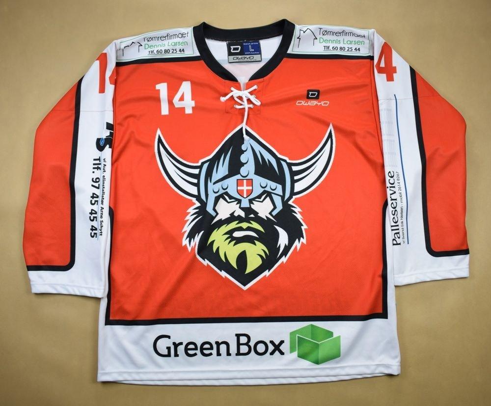 JUTLAND VIKINGS HOCKEY  S.DYHR  OWAYO SHIRT L Other Shirts   Hockey ... c4276952079