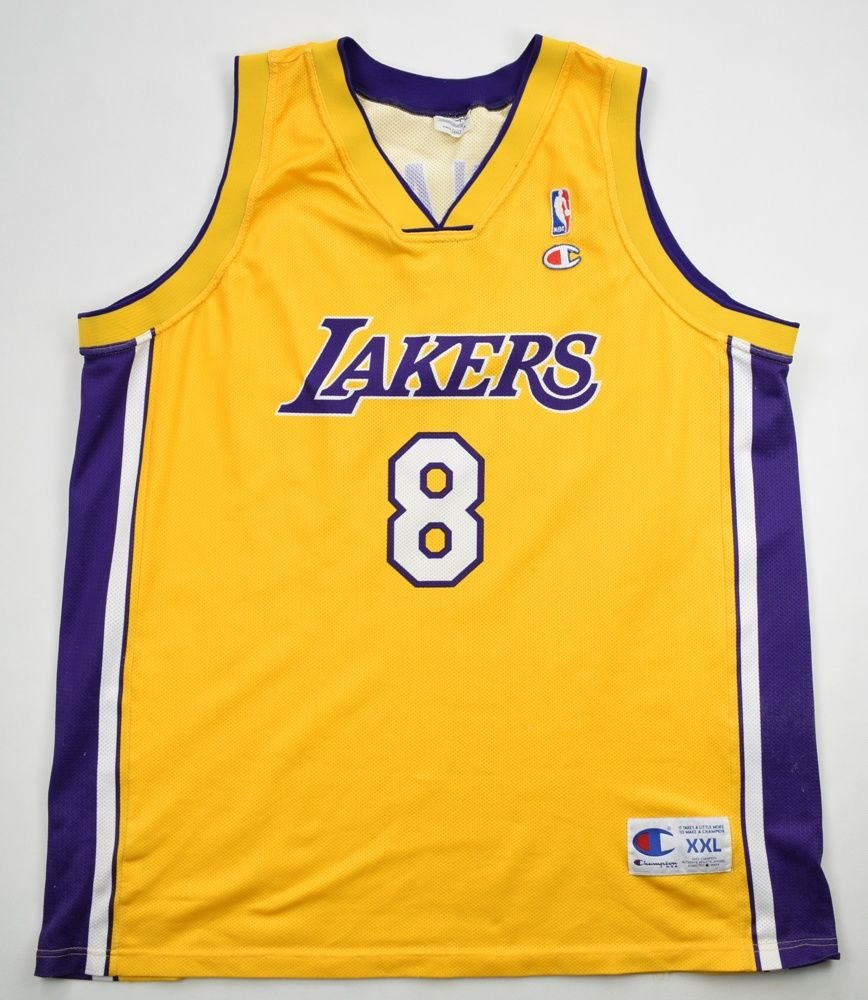 af7fe4f89df LOS ANGELES LAKERS  BRYANT  NBA CHAMPION SHIRT 2XL Other Shirts ...