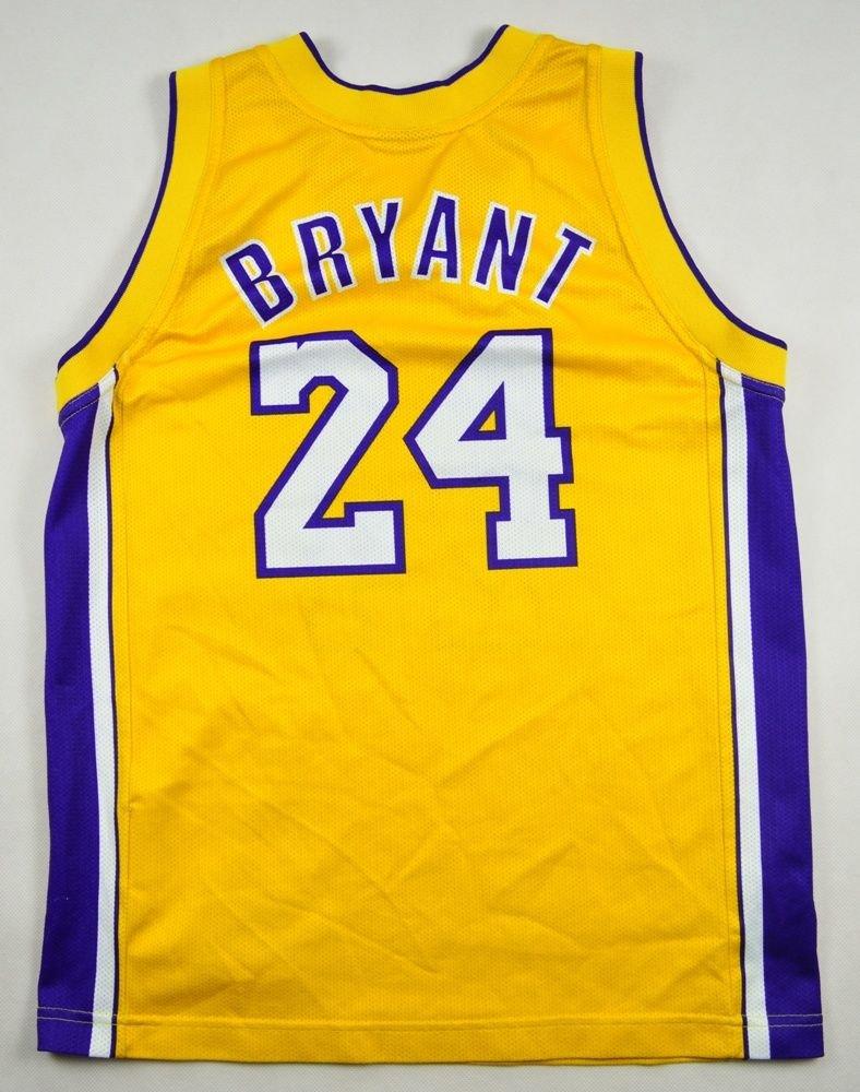 new product 57c54 9950e LOS ANGELES LAKERS *BRYANT* NBA CHAMPION SHIRT M. BOYS 9/10 YEARS