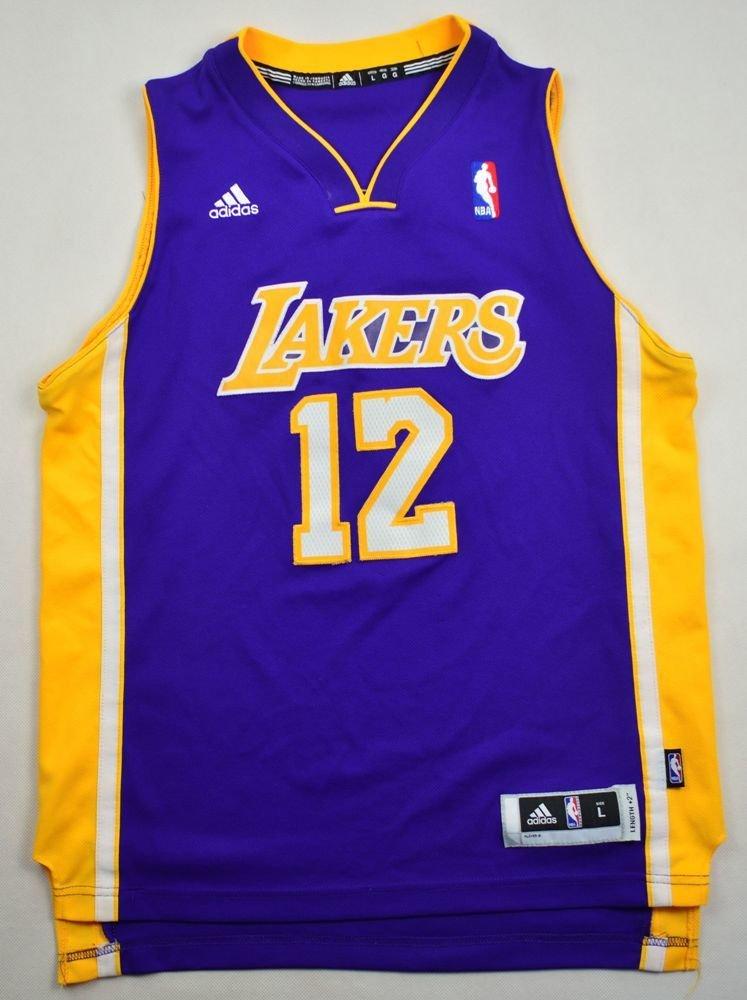 LOS ANGELES LAKERS *HOWARD* NBA ADIDAS SHIRT L