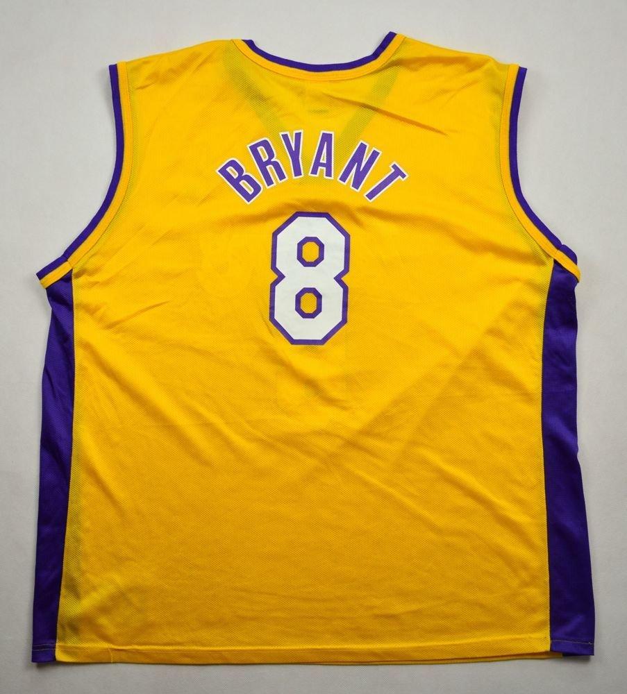 LOS ANGELES LAKERS *Kobe Bryant* CHAMPION SHIRT XL