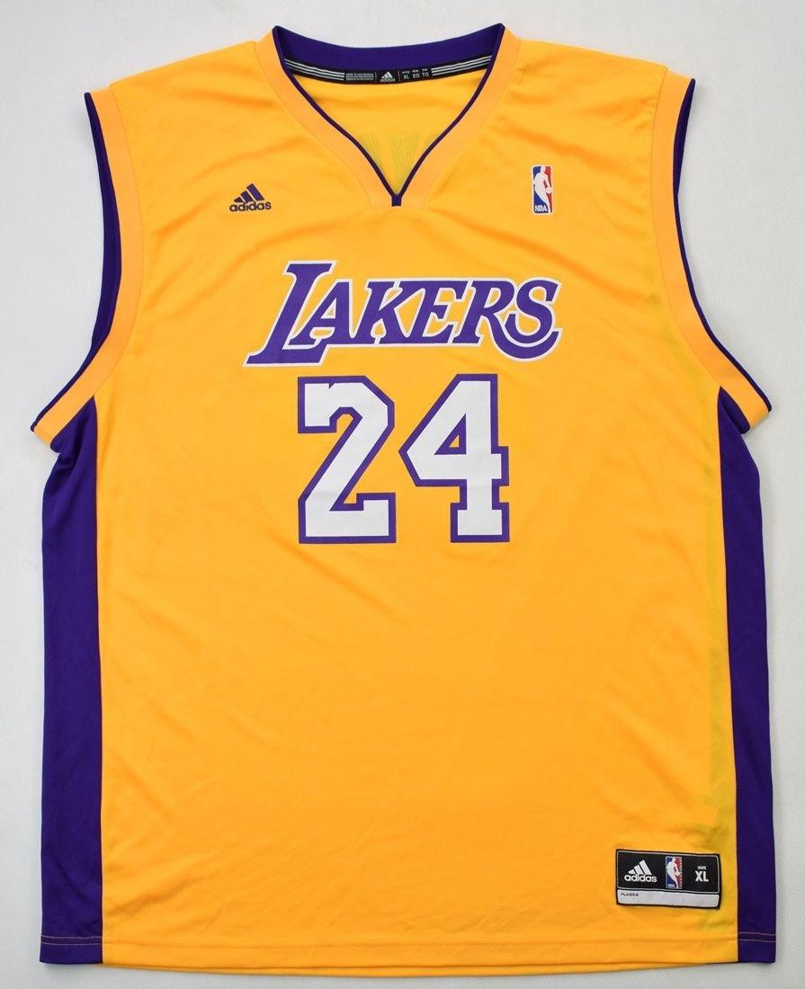LOS ANGELES LAKERS *Kobe Bryant* NBA ADIDAS SHIRT XL