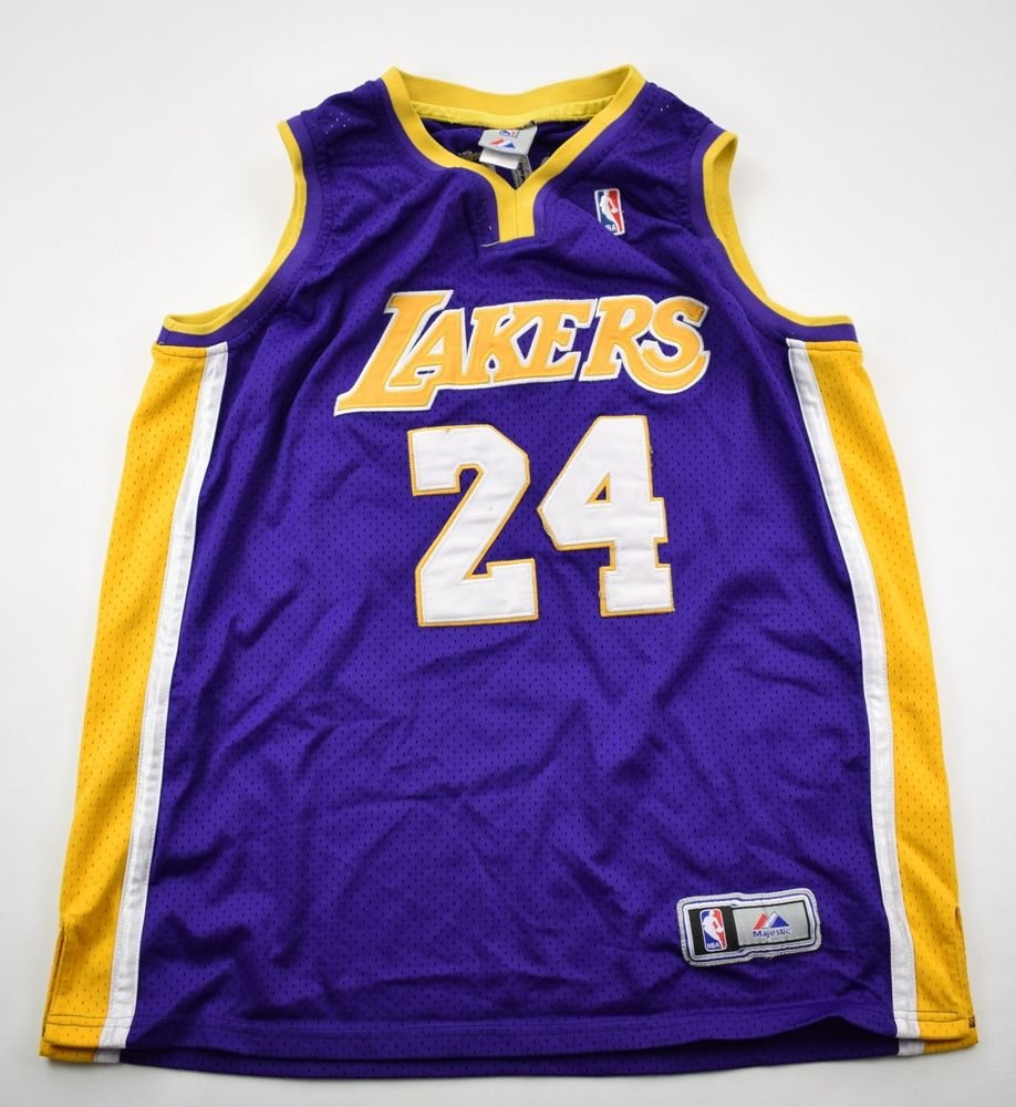 LOS ANGELES LAKERS *Kobe Bryant* NBA MAJESTIC SHIRT 50