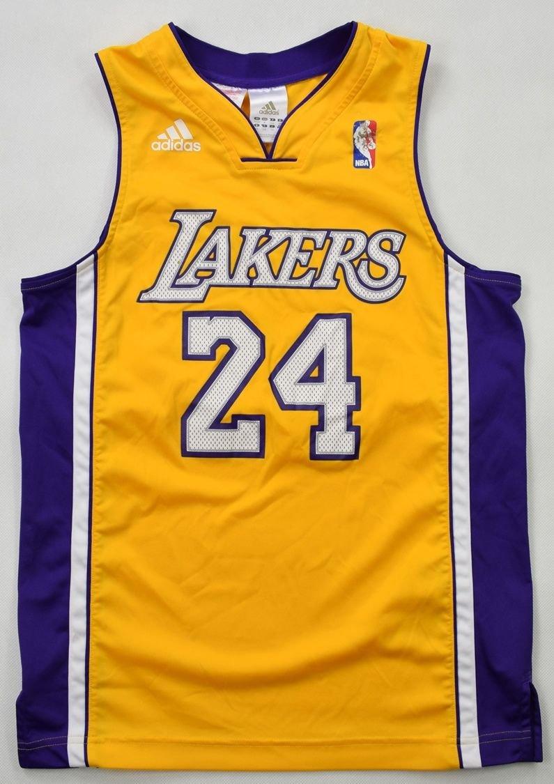 LOS ANGELES LAKERS *Kobe Bryant* NBA SHIRT M. BOYS