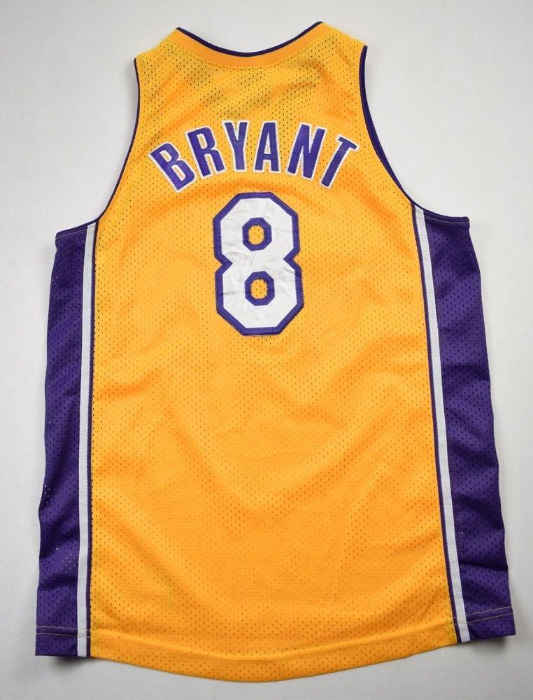 LOS ANGELES LAKERS NBA *Kobe Bryant* NIKE SHIRT L. BOYS