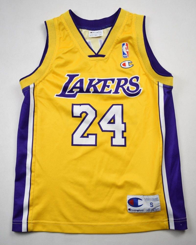 LOS ANGELES LAKERS NBA *Kobe Bryant* NIKE SHIRT S. BOYS 126-131 CM