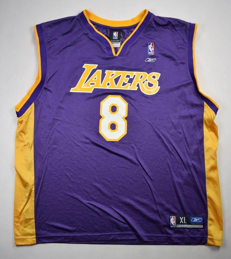 LOS ANGELES LAKERS NBA *Kobe Bryant* REEBOK SHIRT XL