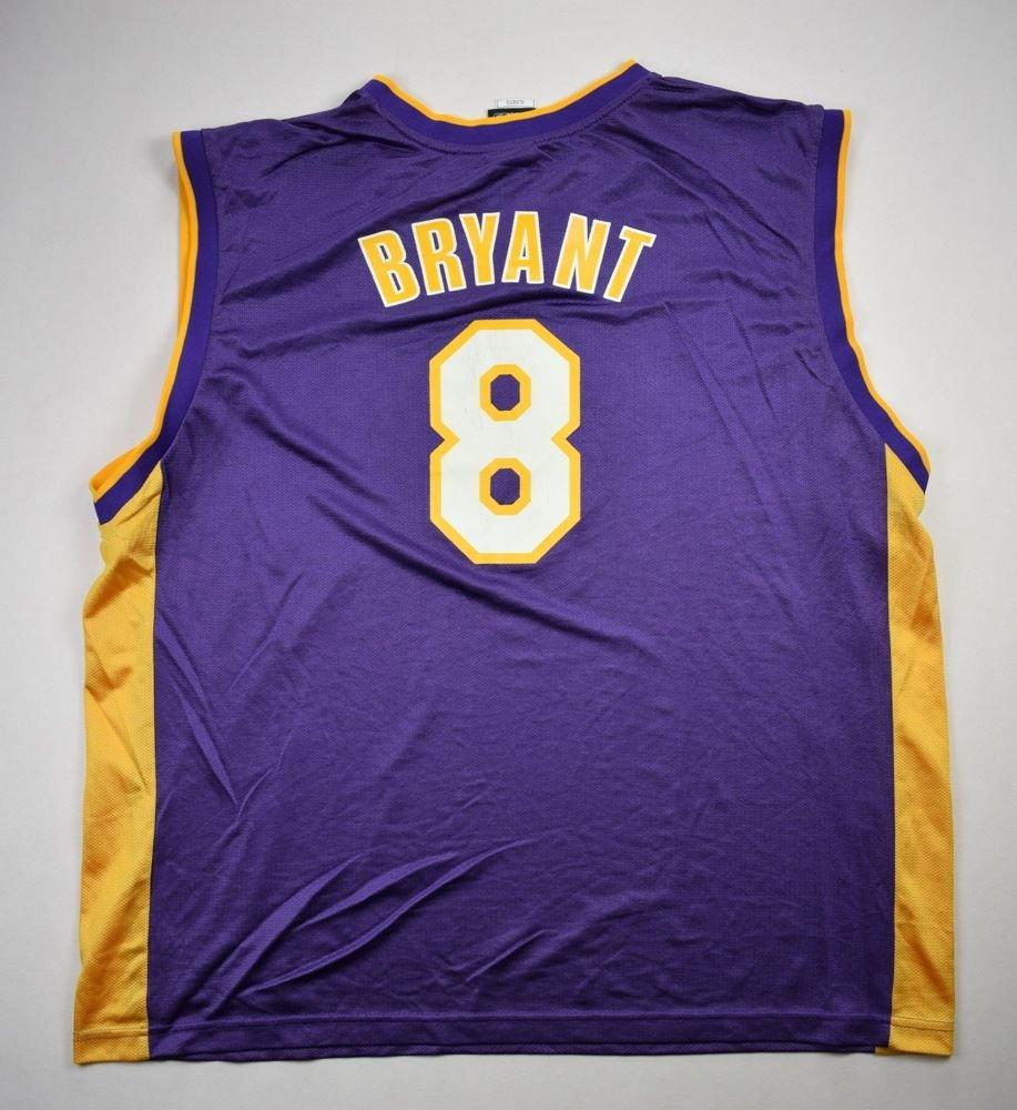 LOS ANGELES LAKERS NBA *Kobe Bryant* REEBOK SHIRT XL Other Shirts ...