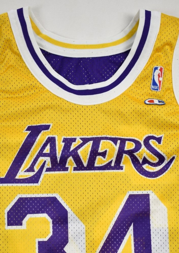 adc24fb03f4 LOS ANGELES LAKERS NBA *O'NEAL* CHAMPION SHIRT M Other Shirts ...
