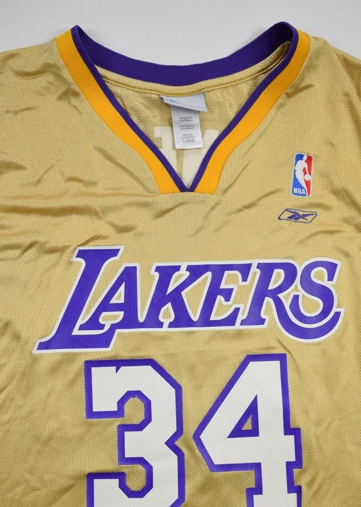 d1bde5e0b02 LOS ANGELES LAKERS NBA *O'NEAL* REEBOK SHIRT L Other Shirts ...