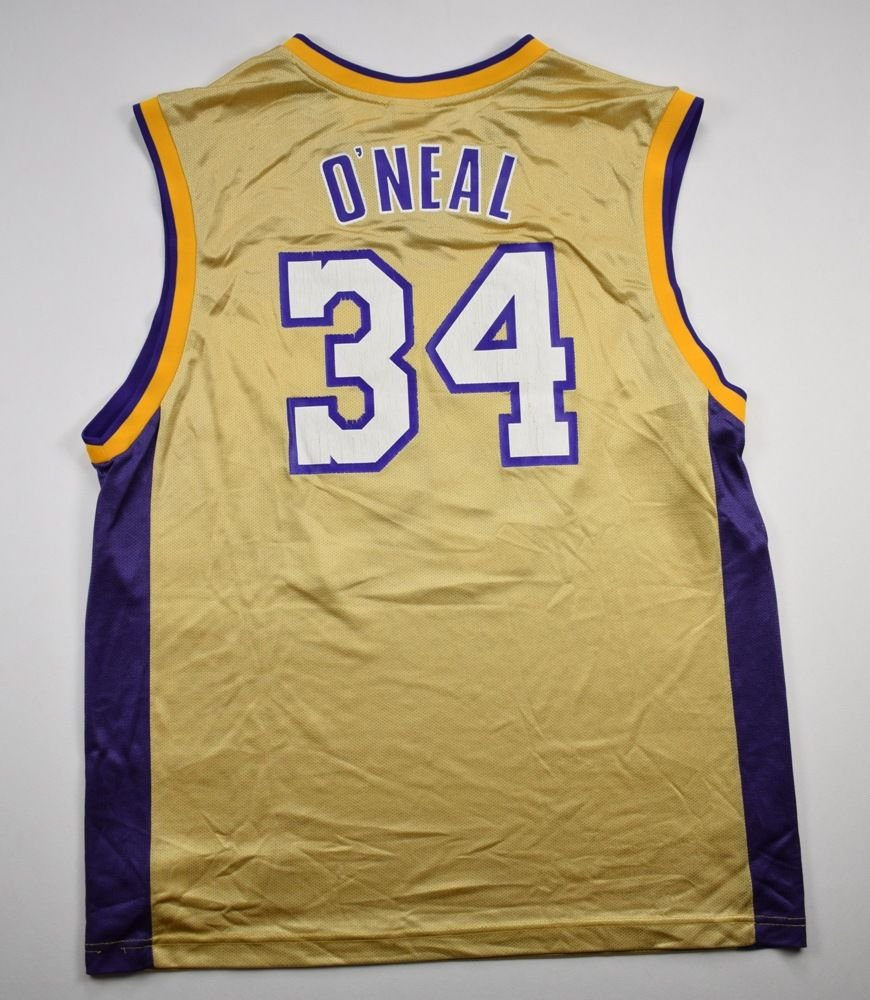 09f8e24c7a5 LOS ANGELES LAKERS NBA *O'NEAL* REEBOK SHIRT L Other Shirts \ Basketball |  Classic-Shirts.com