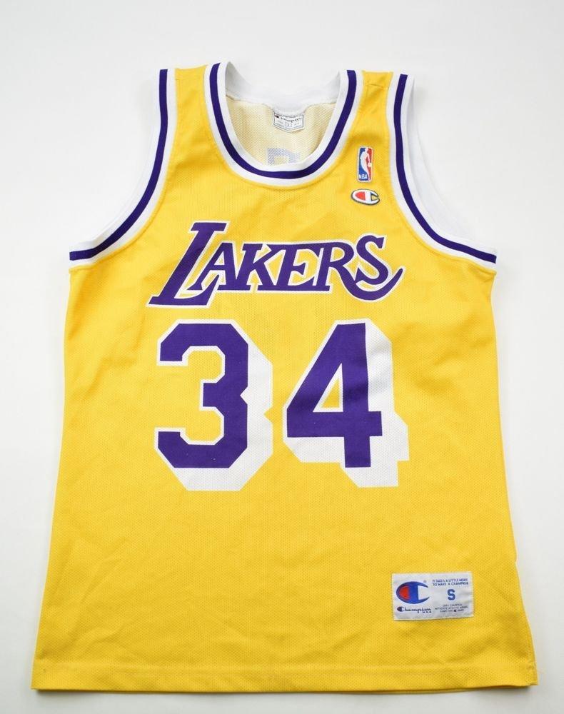 LOS ANGELES LAKERS *O`NEAL* NBA CHAMPION SHIRT S