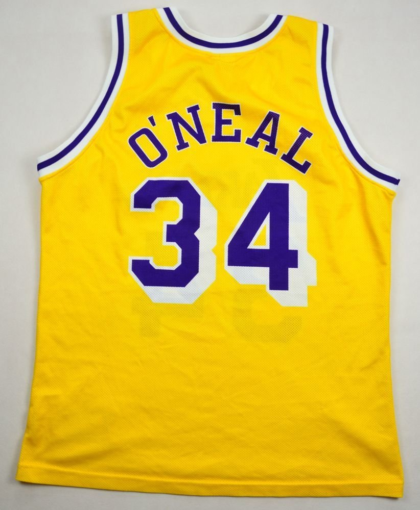 e51c7832227 LOS ANGELES LAKERS *O'NEAL* NBA CHAMPION SHIRT L Other Shirts \ Basketball  | Classic-Shirts.com