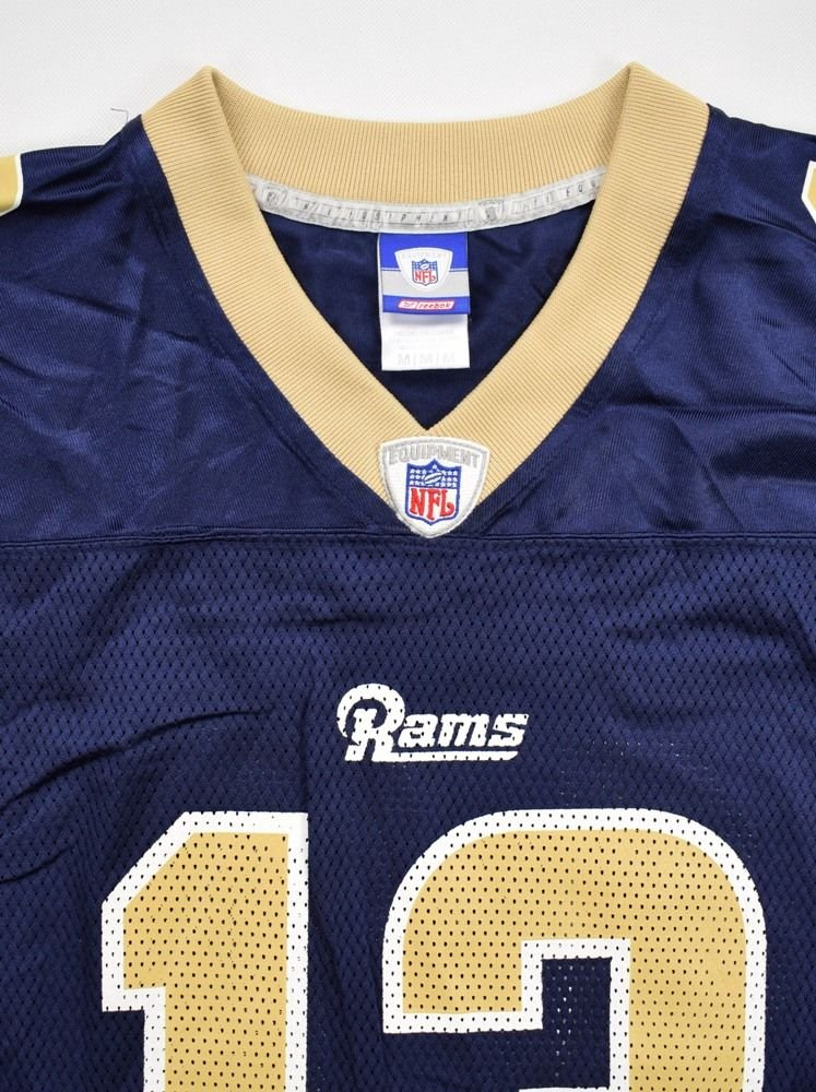 huge discount ac216 d6c0b LOS ANGELES RAMS *WARNER* NFL REEBOK SHIRT M