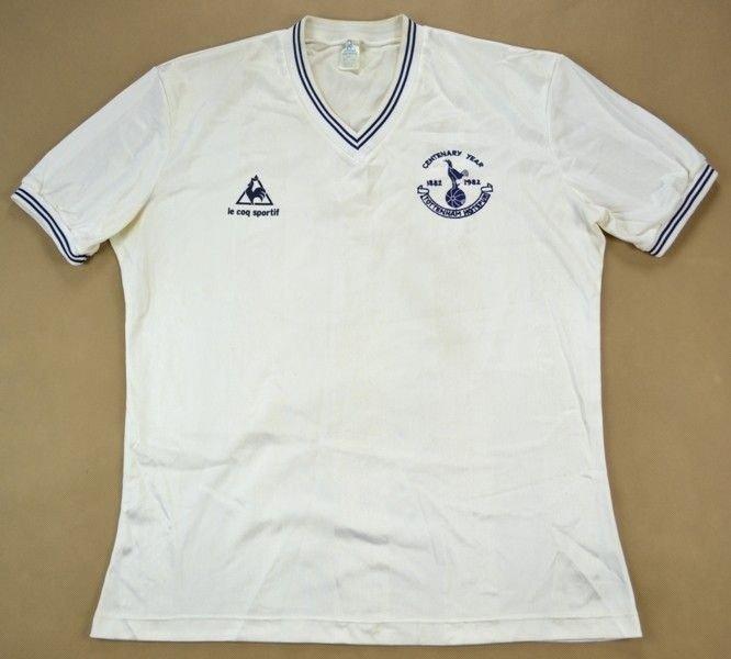 3af55a8fc998 Le coq sportif 1982-83 TOTTENHAM HOTSPUR Home Shirt Jersey XL Football    Soccer   Premier League   Tottenham