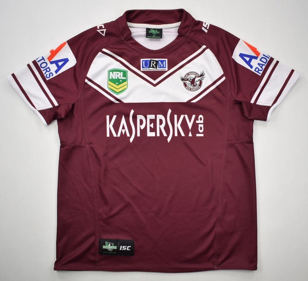94dc3f1d2e1 MANLY WARRINGAH SEA EAGLES RUGBY ISC NRL SHIRT 2XL Rugby \ Rugby League \  Other | Classic-Shirts.com