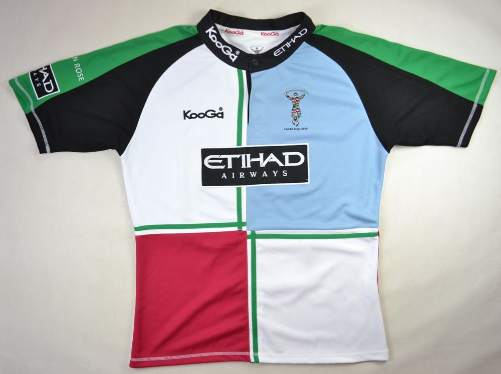 a8842b096dc NEC HARLEQUINS RUGBY KOOGA SHIRT L Rugby \ Rugby Union \ Harlequins    Classic-Shirts.com