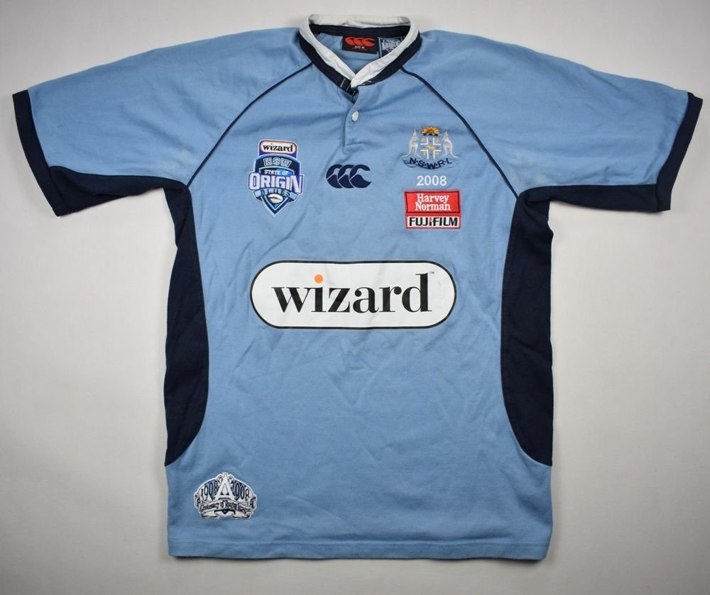 a4ab0be644f3a9 NEW SOUTH WALES RUGBY CANTERBURY SHIRT M Rugby \ Rugby League \ New South  Wales Blues | Classic-Shirts.com