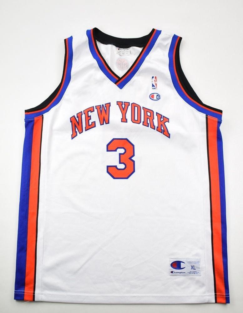 new arrival d58ec 5c60b NEW YORK KNICKS *MARBURY* NBA CHAMPION SHIRT XL