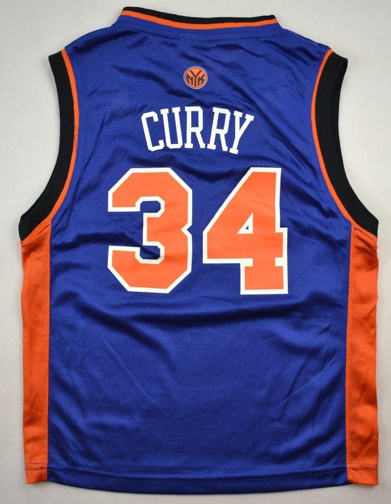 buy online a5e04 4c7ff NEW YORK KNICKS NBA *CURRY* ADIDAS SHIRT M. BOYS