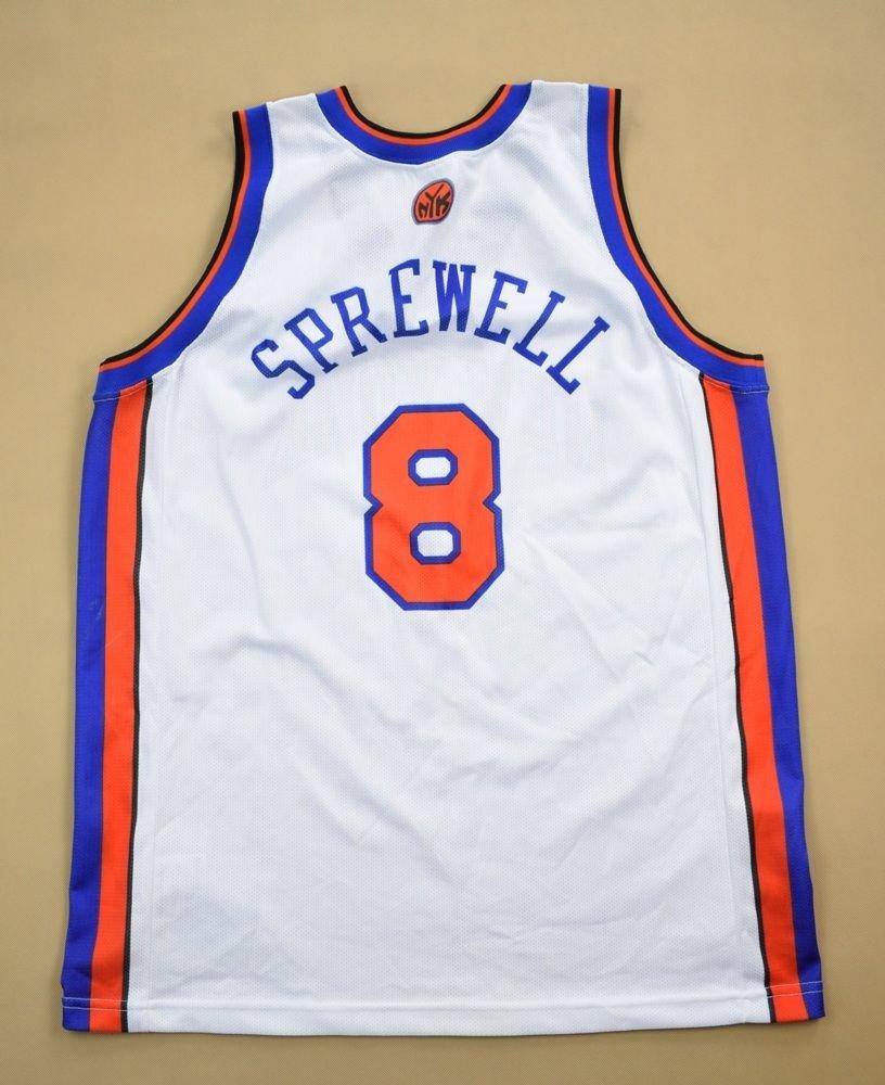 NEW YORK KNICKS  SPREWELL  NBA CHAMPION SHIRT XL Other Shirts   Basketball   db60742e8