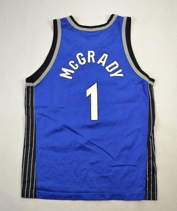 7e11f564b ORLANDO MAGIC NBA  MCGRADY  CHAMPION SHIRT L. BOYS Other Shirts   Basketball