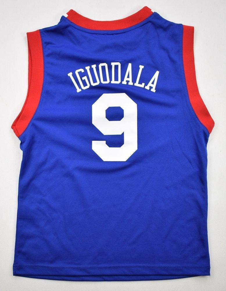 new style 7ca9b f7fb0 PHILADELPHIA SIXERS *IGUODALA* NBA ADIDAS SHIRT M. BOYS