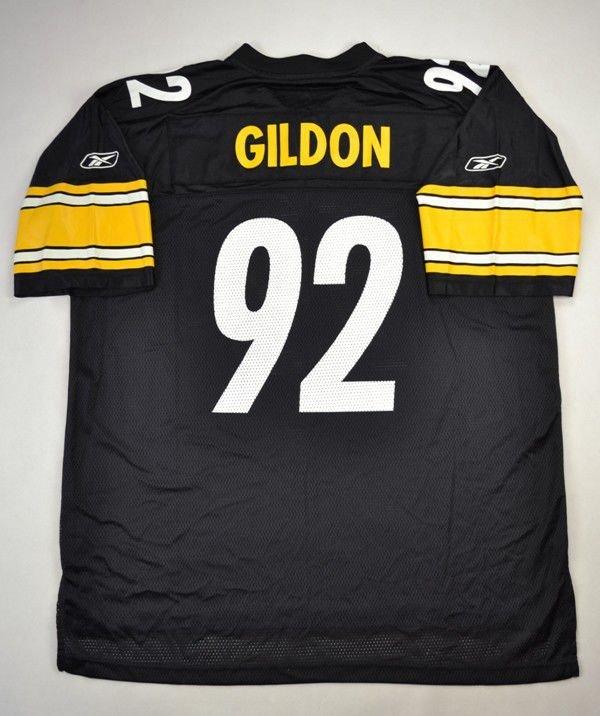 04fc3793f PITTSBURGH STEELERS NFL  GILDON  REEBOK SHIRT XL Other Shirts   American  Football
