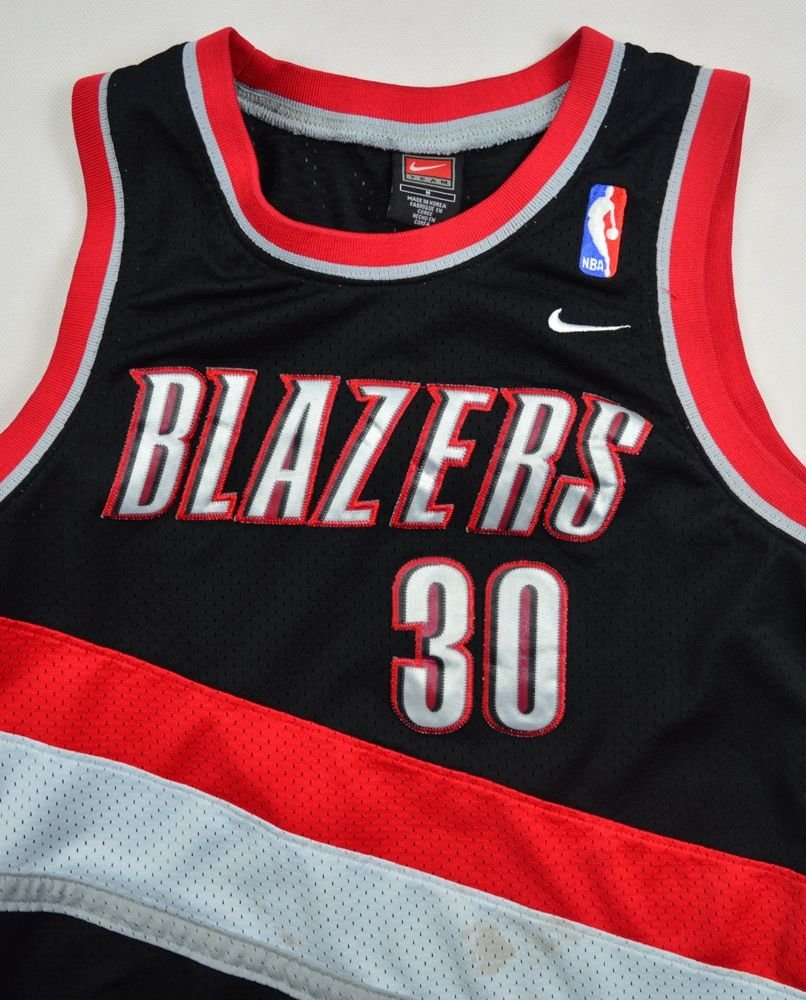 Portland Nba: PORTLAND TRAIL BLAZERS *WALLACE* NBA NIKE SHIRT M. BOYS