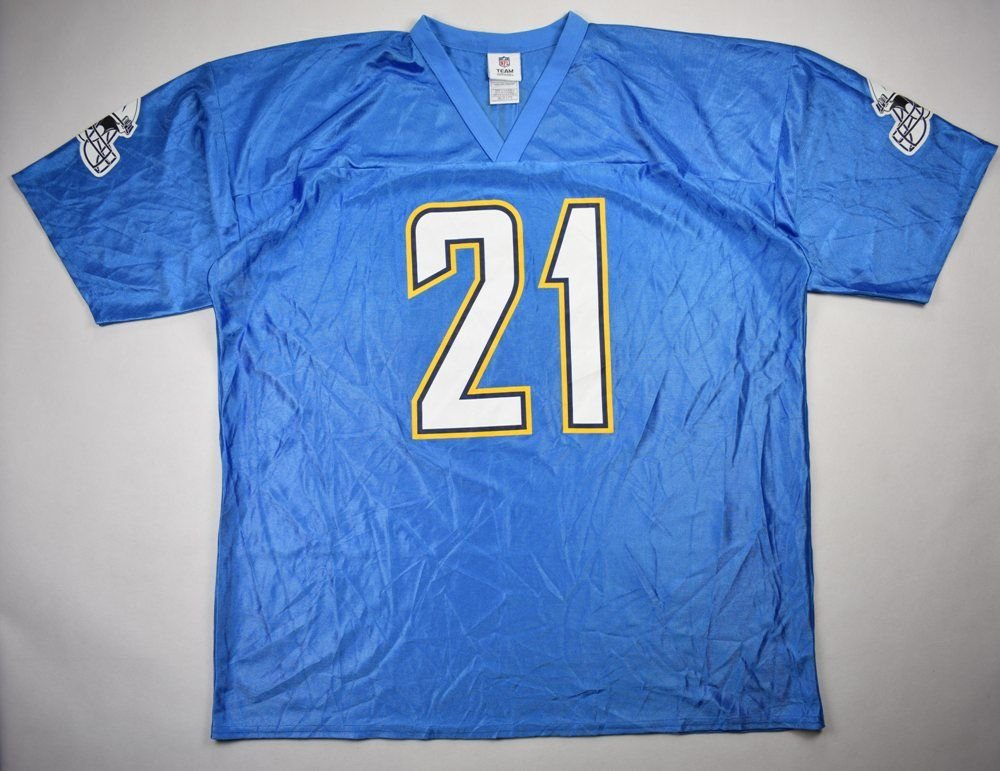 762b01741 SAN DIEGO CHARGERS NFL TOMLINSON   TEAM APPAREL SHIRT 2 XL Other Shirts    American Football