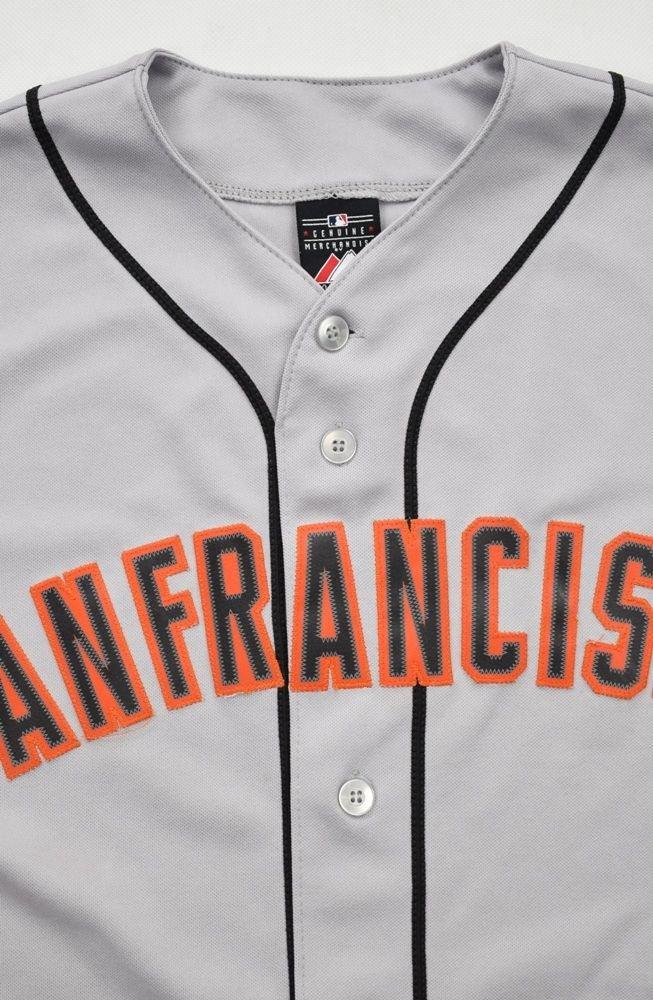 best website 83a9b 94cac SAN FRANCISCO GIANTS MLB MAJESTIC SHIRT M