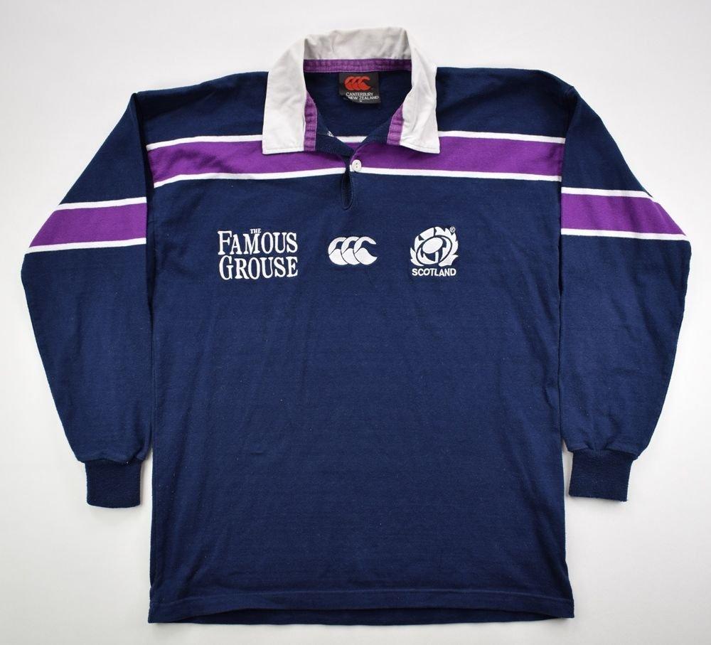836479c0e9b SCOTLAND RUGBY CANTERBURY LONGSLEEVE SHIRT M Rugby \ Rugby Union ...