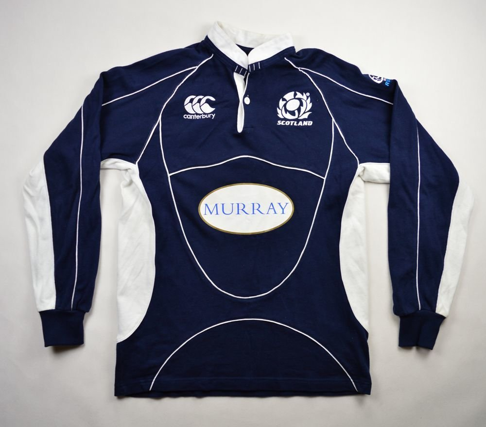 836479c0e9b SCOTLAND RUGBY CANTERBURY LONGSLEEVE SHIRT M Rugby \ Rugby Union ...