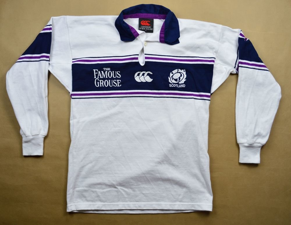 7f1b2328c01 SCOTLAND RUGBY CANTERBURY LONGSLEEVE SHIRT S Rugby \ Rugby Union ...